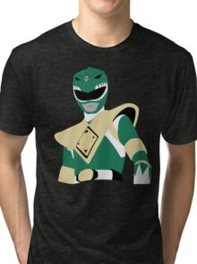 MMPR - Green Ranger Tri-blend T-Shirt