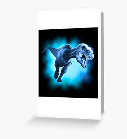 Tyrannosaurus Rex Design 2 Greeting Card