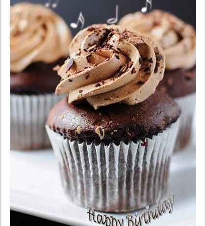 Chocolate Cup Cake (#GC302) Sticker