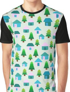 Home in Baby Mint Graphic T-Shirt