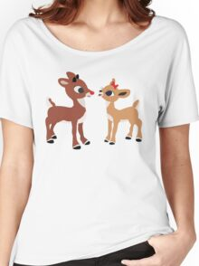 Classic Rudolph and Clarice Women's Relaxed Fit T-Shirt