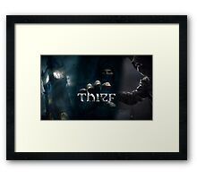 Thief Poster [SQUARE ENIX] Framed Print