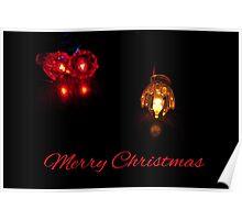 Christmas Lights - Card Poster