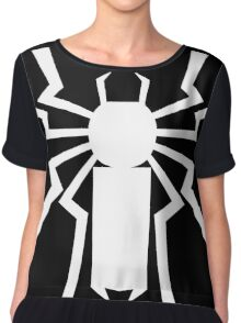 Flash's Spider Chiffon Top