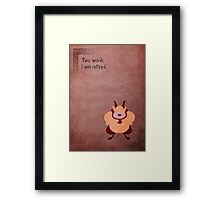 Hercules inspired design (Phil). Framed Print