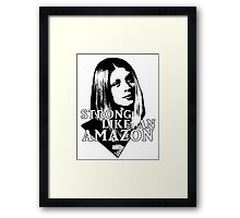 TARA MACLAY: Strong Like An Amazon Framed Print