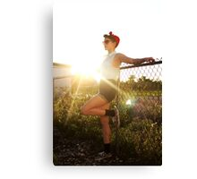 50s at Sunset Canvas Print