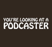 You're looking at a podcaster (white) by solotalkmedia