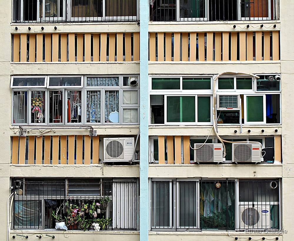Air Con and Laundry  by Ethna Gillespie