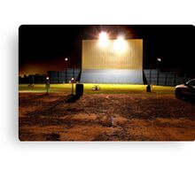 Drive in Theater Canvas Print
