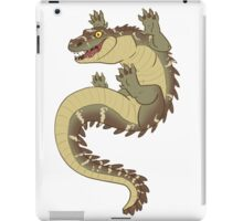 happy croc  iPad Case/Skin