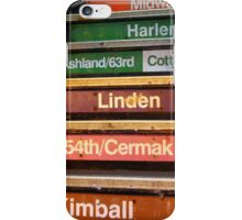 Chicago Loop iPhone Case/Skin
