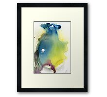 Pear abstract Framed Print