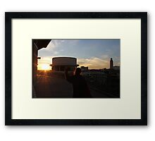 TEXAS FIGHT Framed Print