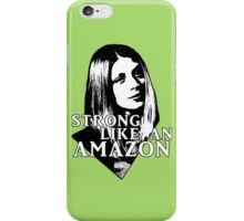 TARA MACLAY: Strong Like An Amazon iPhone Case/Skin