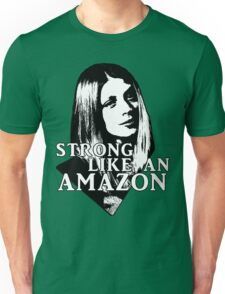 TARA MACLAY: Strong Like An Amazon Unisex T-Shirt