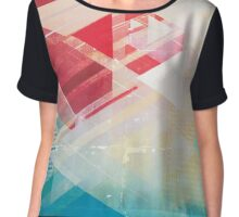 Future Skyline Chiffon Top