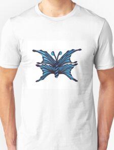 Blue Fantasy Butterfly Unisex T-Shirt