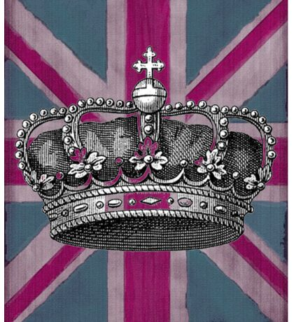Union Jack and Crown Sticker