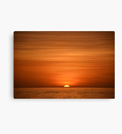 Floridian Sunset I Canvas Print