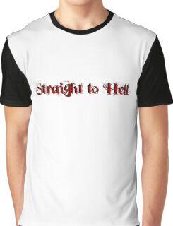 the clash lyrics cool straight to hell punk rock inspirational street uraban t shirts Graphic T-Shirt