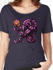 Super Metroid Pink Chozo Women's Relaxed Fit T-Shirt