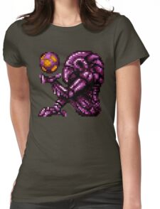 Super Metroid Pink Chozo Womens Fitted T-Shirt
