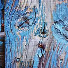 Sleepy Fence abstract by Laurie Minor