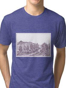 River in highland forest Tri-blend T-Shirt