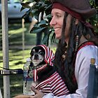 If I can dress up, so can my dog... by Larry Lingard-Davis