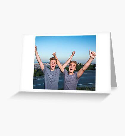 JOE SUGG & CASPAR LEE Greeting Card