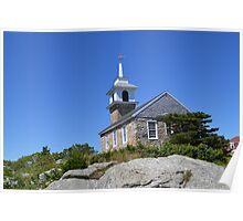 Star Island Chapel Poster