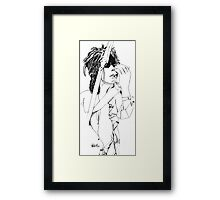 KEITH RICHARDS Framed Print