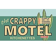 The Crappy Motel Photographic Print