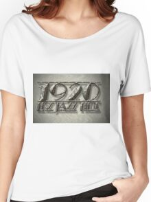 It's Jazz Time Vintage Typography Billboard Women's Relaxed Fit T-Shirt
