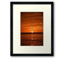 Floridian Sunset III Framed Print