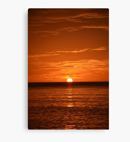 Floridian Sunset III Canvas Print