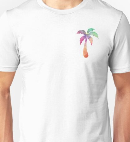 Tie Dye Palm Tree Unisex T-Shirt