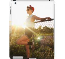 50s at Sunset iPad Case/Skin