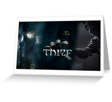Thief Poster [SQUARE ENIX] Greeting Card