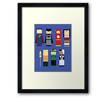 The Justice League  Framed Print