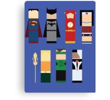The Justice League  Canvas Print