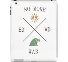 No More War iPad Case/Skin