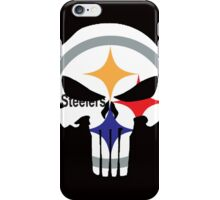 Pittsburgh Steelers Punisher Logo iPhone Case/Skin
