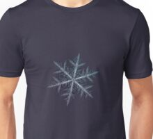 Neon, snowflake macro photo Unisex T-Shirt