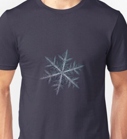 Neon, snowflake macro photo Unisex T-Shirt