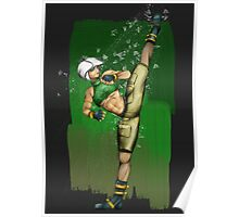 Street Soldier High Kick Poster