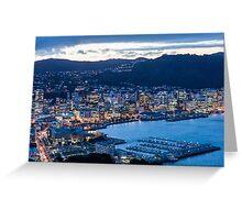 Wellington By Night Greeting Card