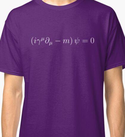 Dirac Equation - White Classic T-Shirt