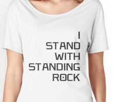 I STAND WITH STANDING ROCK - WNI WICOLI Women's Relaxed Fit T-Shirt
